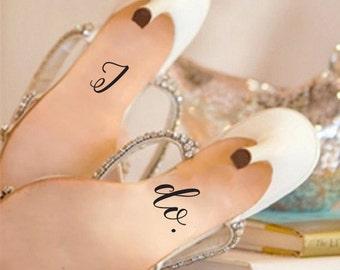 I do. Heel Decals ~ Wedding Shoe Decal ~ Wedding Shoes ~ Custom Wedding Shoes ~ Custom Color Decal ~ Shoe Decal ~ Wedding Accessory