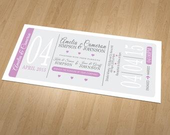 Modern Wedding Stationery Set