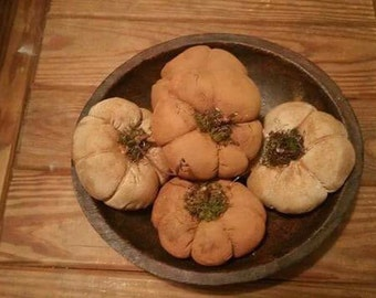 Mini fall pumkins