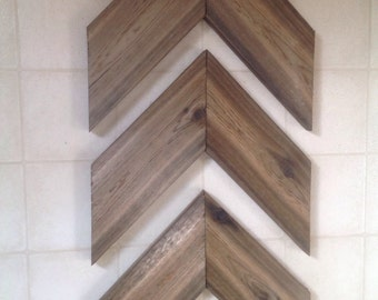 Wood Chevron set