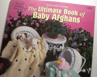 Knit & Crochet, The Ultimate Book of Baby Afghans  - pay it forward, PIF