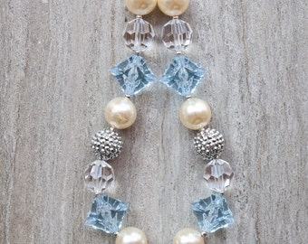 Cinderella inspired bubblegum necklace *in stock•READY TO SHIP*