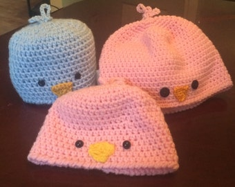 Cute chick hat in any color