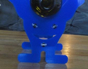 Original bottle, plexi or wooden laser cut Plexiglass or wood