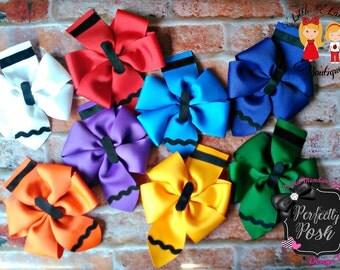 Pinwheel Hairbow (set of 8)
