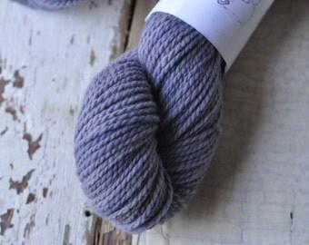 Naturally Dyed 100% American Wool - Logwood