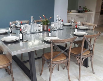 Concrete Dining Table. Hand made.
