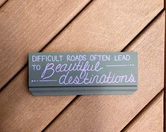 Beautiful Destinations Handpainted Sign
