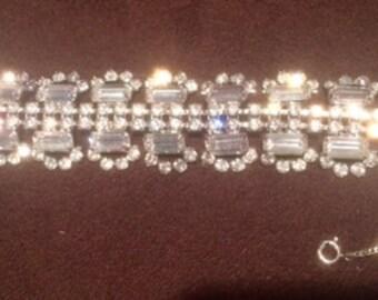 Alice Caviness Vintage Rhinestone Bracelet