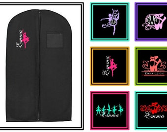 GARMENT BAG CUSTOM Dance Personalized Dancer Ballet