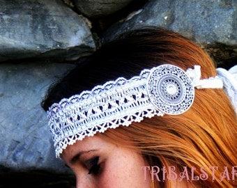 Headband Silverwhite