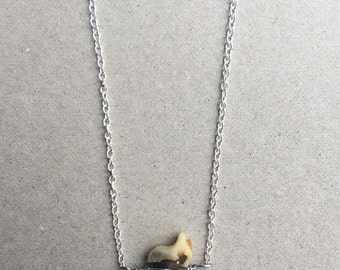 Coyote claw pendant necklace