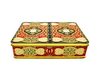English Tin, Chinoiserie Tin Box