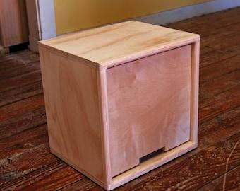 Cube Knobless Drawer Insert