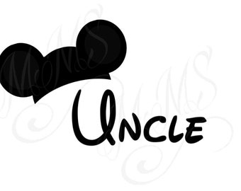 Uncle Family Grandma Mickey Mouse Head Disney Family Download Iron On Craft Digital Disney Cruise Line Magnet Shirts