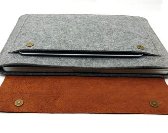 """Dell laptop case 11""""/12""""/13""""/14""""/15"""", Dell Inspiron sleeve, Dell XPS 13, Dell Chromebook, leather dell laptop cover, laptop case, Q150"""