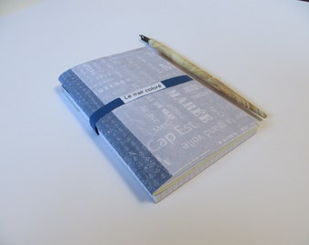 """All book + Notepad """"in grey and blue"""""""