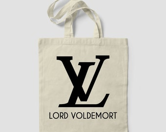 Lord Voldemort Hogwarts Tote Bag Harry Potter Wizard Deathly Hallows Hermione