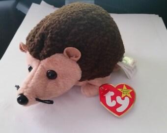 Prickles the hedgehog TY beanie baby