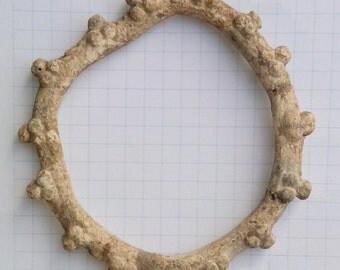 Ancient Celtic Bracelet, c 3-2 BC. La Tène culture RARE LEAD