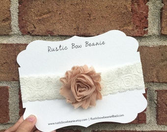 Baby Lace Flower Headband 0-6month