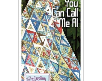 You Can Call Me Al Quilt Pattern, by Carolina Patchworks