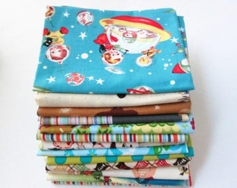 Michael Miller - Assorted Children's Fabric- Fat Quarter Bundle #2