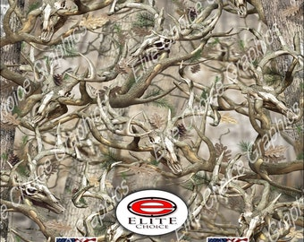 """Obliteration Buck 52""""x6ft Wrap Vinyl Truck Camo Car SUV Tree Real Camouflage Sticker Decal"""