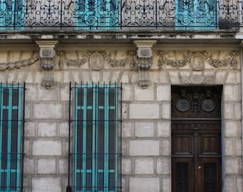Doors in France, Marseille, France - Fine Art Print, Color Print, Doors, Color, Windows, Photography, French Art