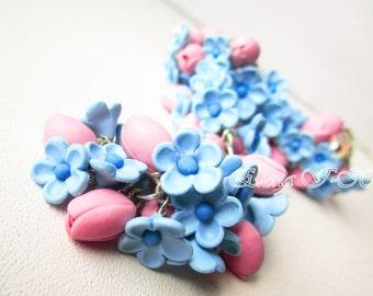 Bracelet «Soft tulips»