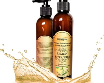BODY LOTION, Hand & Body Lotion, Organic Lotion, All Natural Lotion, Vegan Lotion, Aromatherapy Lotion, Gifts for Her, Birthday Gift
