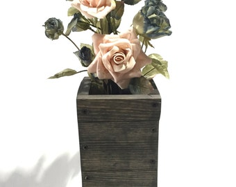 Wood Flower Box