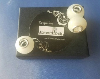Smooth Pandora keepsake beads