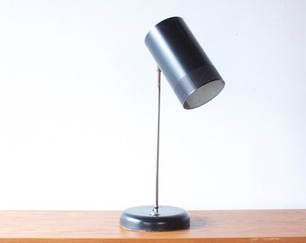 Perforated Shade Black Lamp