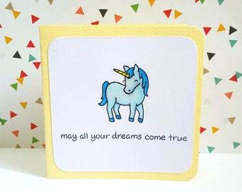 Birthday Magical Unicorn