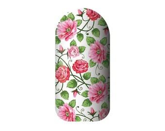 Simply Rose Nail Wraps
