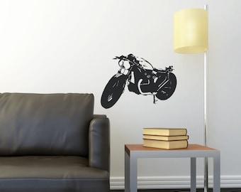 Honda CX500 -Cafe Racer - Vinyl Wall Decal