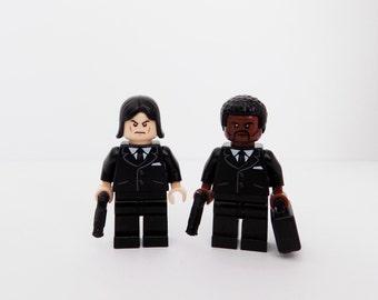 Pulp Fiction Jules Winnfield and Vincent Vega Lego Minifigures