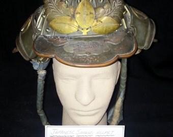 Japanese Samurai Helmet 1868-1880 IDO Period