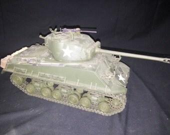 Military M4A3 (76) Medium Tank From Franklin Mint