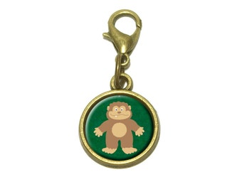 Bigfoot Sasquatch Cute Bracelet Pendant Charm