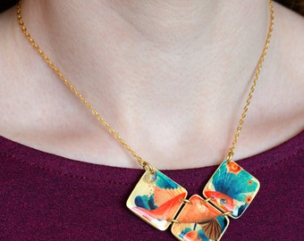 Trifasic Silhouette necklace
