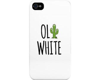 Oli White Cactus Phone Case - Perfect for Teenage Girls! (YouTuber)