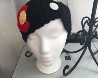CO, Colorado Headband/black