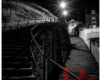 199 Steps 2 - Whitby. High Quality Photographic Print