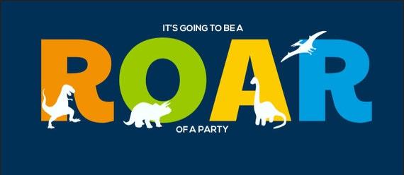 Dinosaur Facebook Event Banner