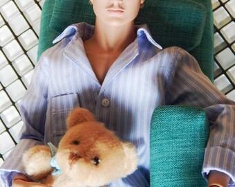 Pijama Male Doll Set