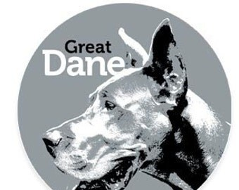 Great Dane Sticker