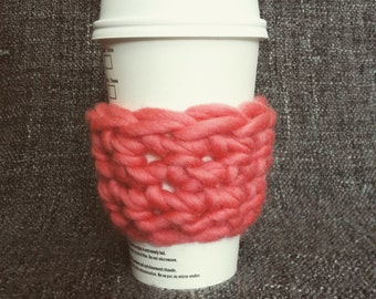 Chunky cup cozy