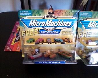 Micro Machines Exploration sets.